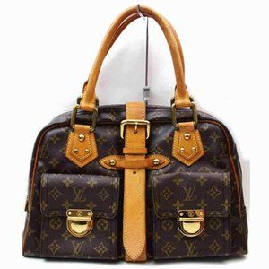 Auth Louis Vuitton Manhattan Gm Hand #7273L42